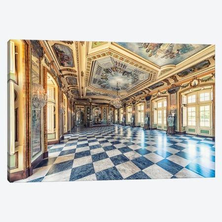 Palacio Real De Queluz Canvas Print #EMN85} by Manjik Pictures Canvas Print