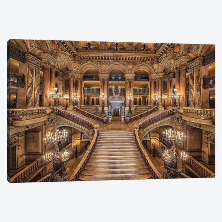 Palais Garnier Canvas Print #EMN86} by Manjik Pictures Canvas Art Print