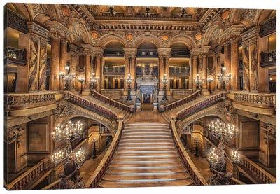 Palais Garnier Canvas Art Print