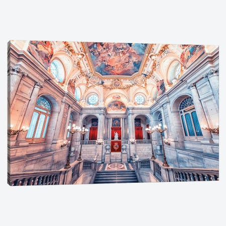 Royal Palace Of Madrid Canvas Print #EMN96} by Manjik Pictures Canvas Wall Art