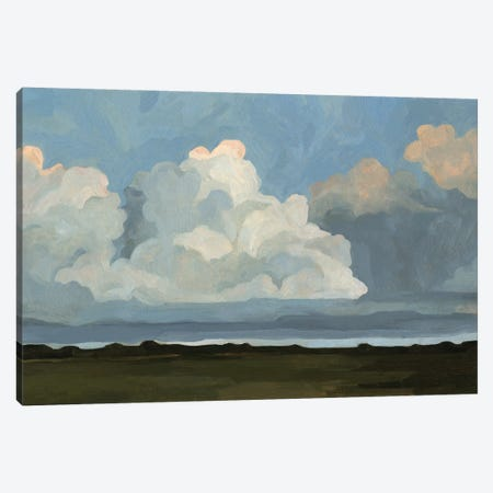 Cloudscape I Canvas Print #EMS100} by Emma Scarvey Canvas Art Print