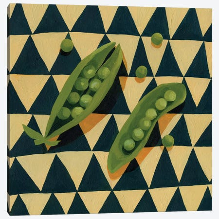 Geo Veggies IV Canvas Print #EMS111} by Emma Scarvey Canvas Wall Art