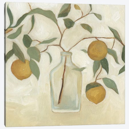 Greenery Still Life I 3-Piece Canvas #EMS112} by Emma Scarvey Canvas Artwork