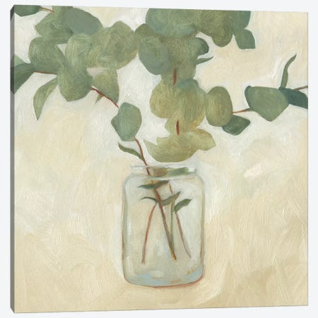 Greenery Still Life II Canvas Print #EMS113} by Emma Scarvey Canvas Wall Art