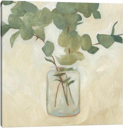 Greenery Still Life II Canvas Art Print
