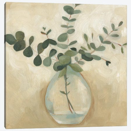 Greenery Still Life III Canvas Print #EMS114} by Emma Scarvey Canvas Art Print