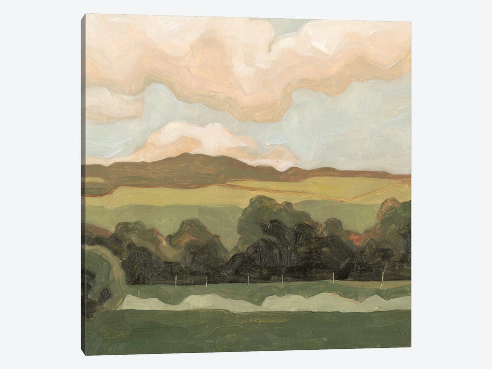Ochre Evening I by Emma Scarvey 1-piece Canvas Art Print