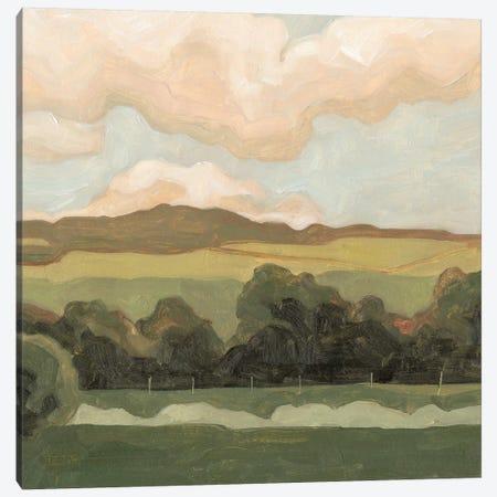 Ochre Evening I Canvas Print #EMS122} by Emma Scarvey Canvas Print