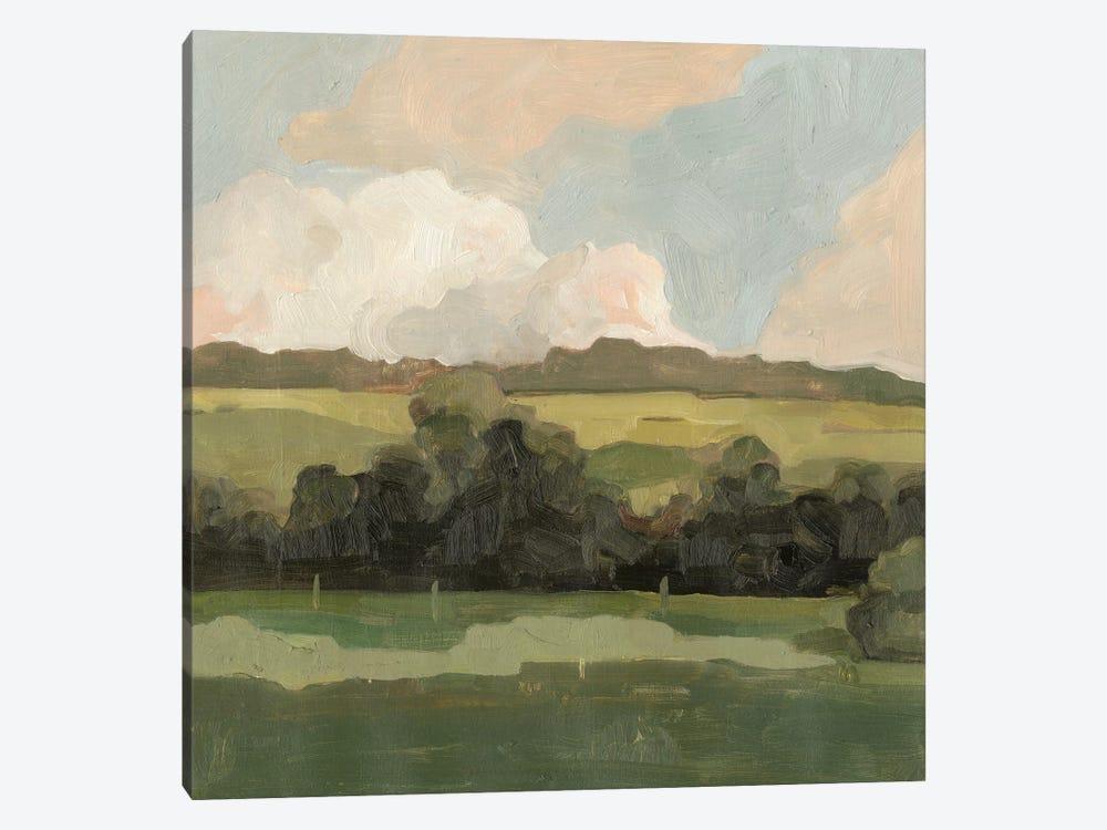 Ochre Evening II by Emma Scarvey 1-piece Canvas Artwork