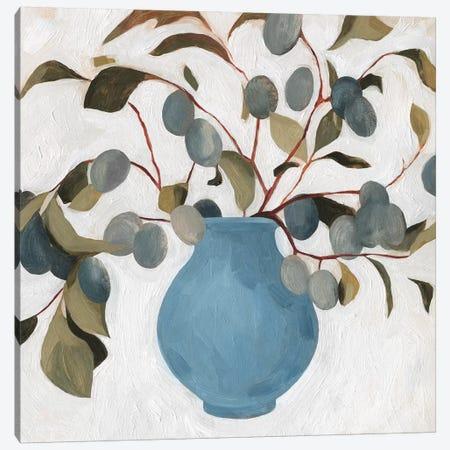 Plum Branch Arrangement I Canvas Print #EMS126} by Emma Scarvey Canvas Art