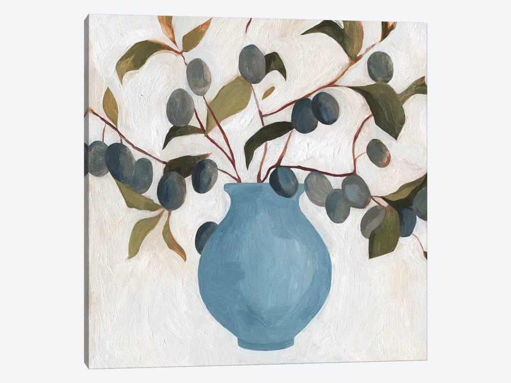 Plum Branch Arrangement II by Emma Scarvey 1-piece Canvas Artwork