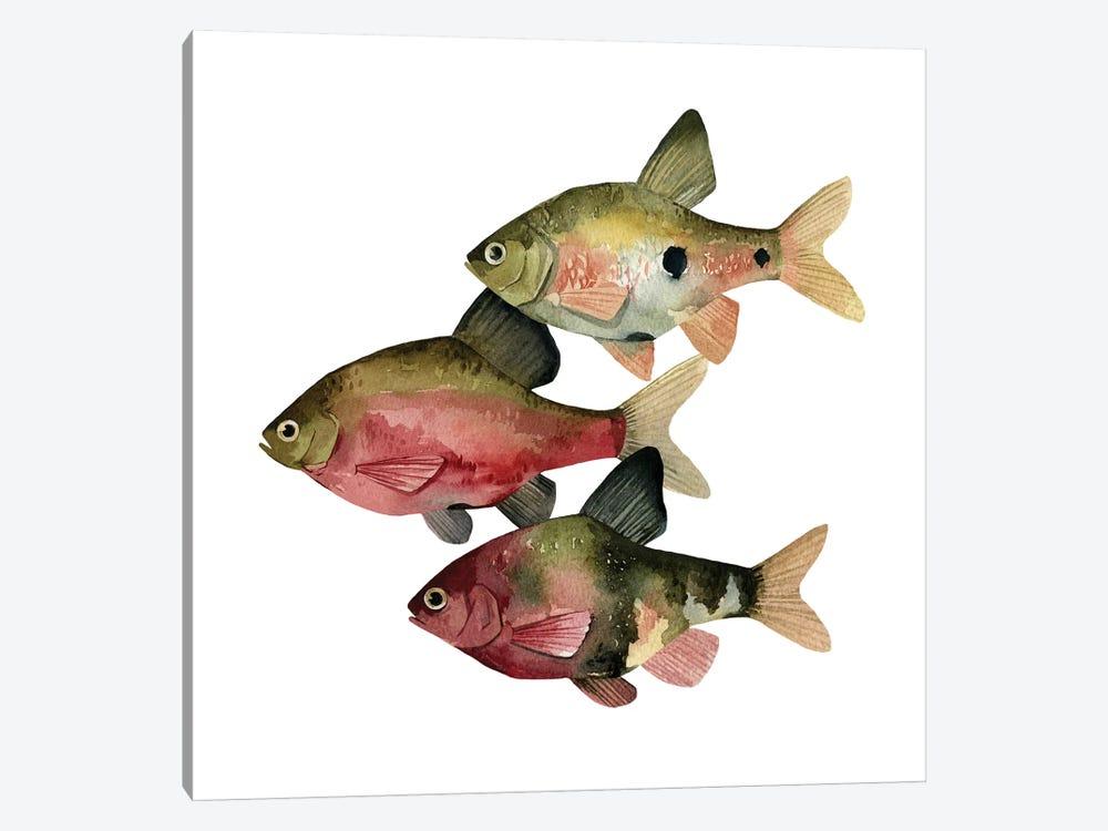 Rainbow Fish I by Emma Scarvey 1-piece Art Print