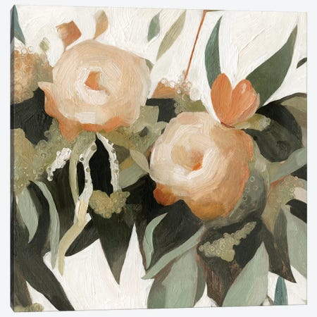 Floral Disarray I Canvas Print #EMS143} by Emma Scarvey Art Print