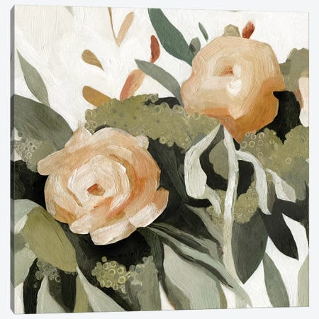 Floral Disarray II Canvas Print #EMS144} by Emma Scarvey Canvas Wall Art