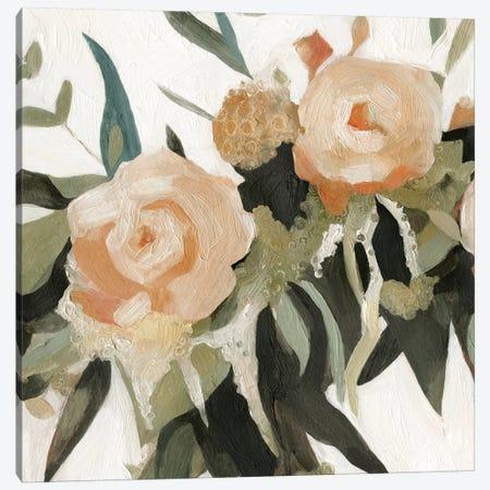 Floral Disarray III Canvas Print #EMS145} by Emma Scarvey Canvas Wall Art
