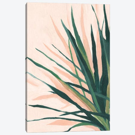 Frond Impression I Canvas Print #EMS146} by Emma Scarvey Canvas Artwork