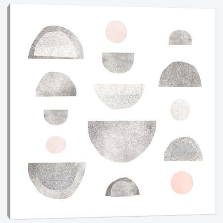 Half Circles I Canvas Print #EMS148} by Emma Scarvey Canvas Print
