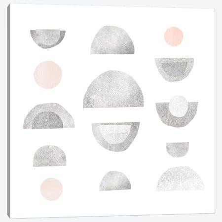 Half Circles II Canvas Print #EMS149} by Emma Scarvey Canvas Art Print
