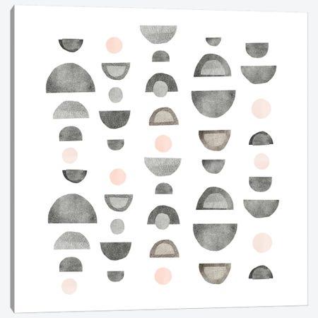 Half Circles III Canvas Print #EMS150} by Emma Scarvey Canvas Artwork