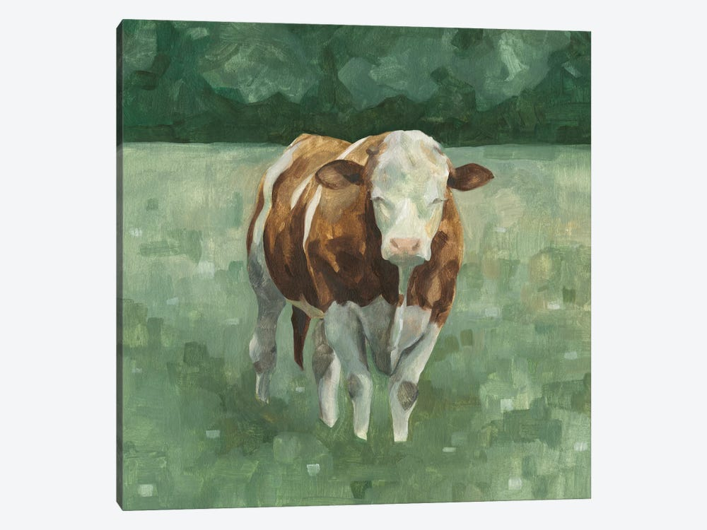 Hereford Cattle II by Emma Scarvey 1-piece Art Print