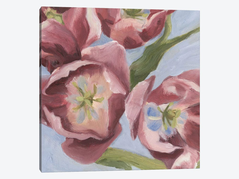 Mauve Tulips I by Emma Scarvey 1-piece Canvas Art