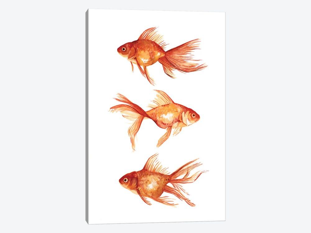 Ornamental Goldfish III by Emma Scarvey 1-piece Art Print