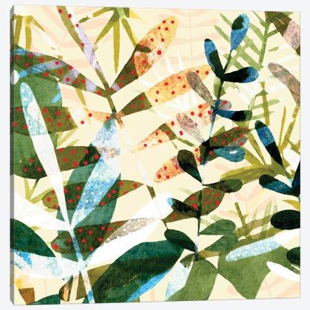 Technicolor Jungle I Canvas Print #EMS168} by Emma Scarvey Art Print
