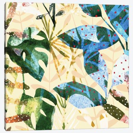 Technicolor Jungle III Canvas Print #EMS170} by Emma Scarvey Canvas Art