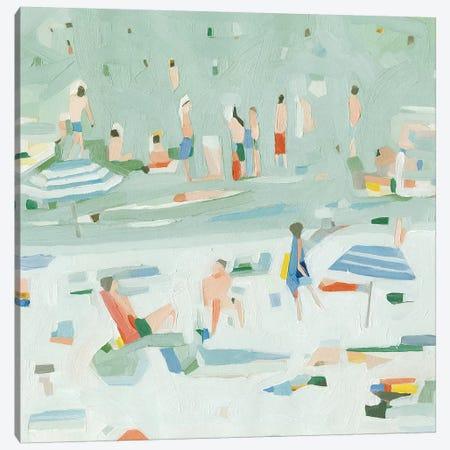 Summer Confetti II Canvas Print #EMS177} by Emma Scarvey Canvas Print