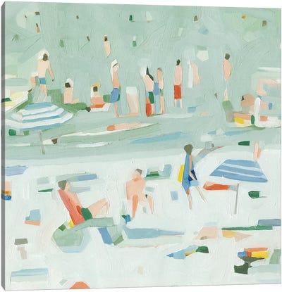 Summer Confetti II Canvas Art Print