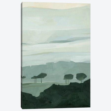 Blue Ridge Fog II Canvas Print #EMS179} by Emma Scarvey Canvas Wall Art