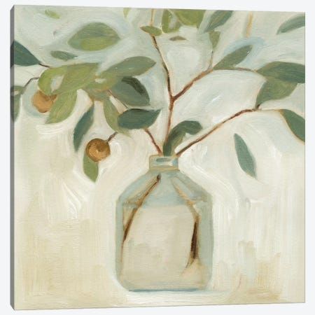Neutral Arrangement I Canvas Print #EMS17} by Emma Scarvey Canvas Art Print