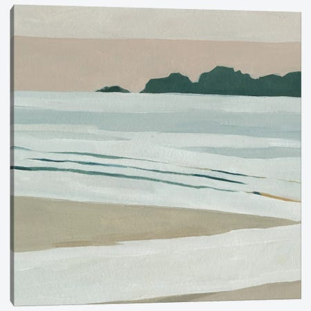 Coastal Lines I Canvas Print #EMS183} by Emma Scarvey Art Print