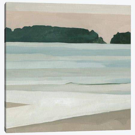 Coastal Lines III Canvas Print #EMS185} by Emma Scarvey Canvas Artwork