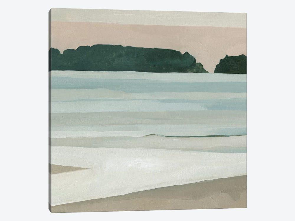 Coastal Lines III by Emma Scarvey 1-piece Canvas Artwork