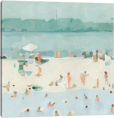 Sea Glass Sandbar I Canvas Art Print