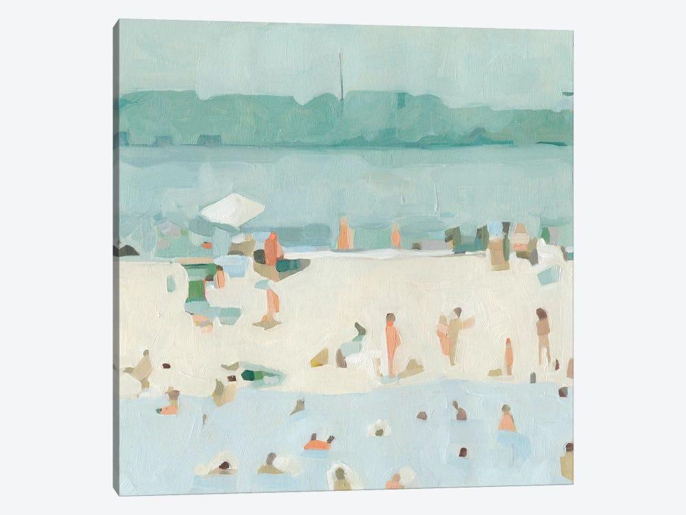Sea Glass Sandbar I by Emma Scarvey 1-piece Canvas Art