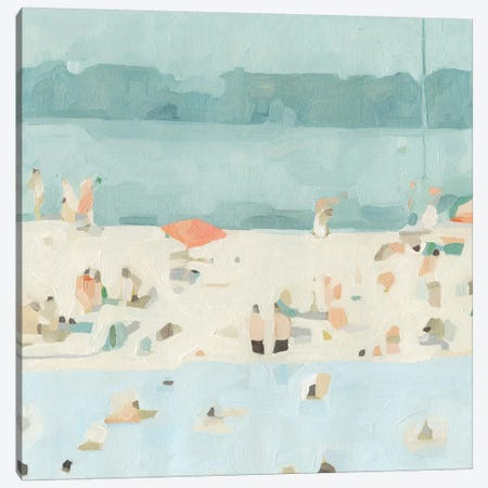 Sea Glass Sandbar II Canvas Print #EMS188} by Emma Scarvey Canvas Art Print