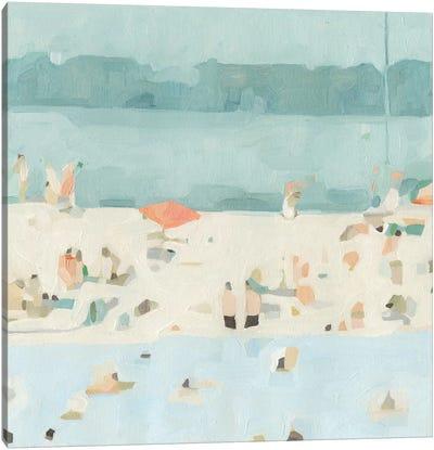 Sea Glass Sandbar II Canvas Art Print