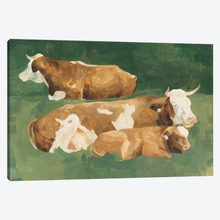 Bucolic Sunday II Canvas Print #EMS197} by Emma Scarvey Canvas Print