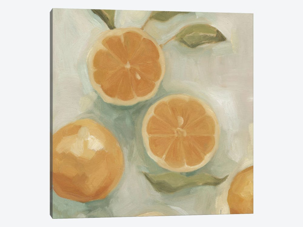 Citrus Study In Oil I by Emma Scarvey 1-piece Canvas Artwork