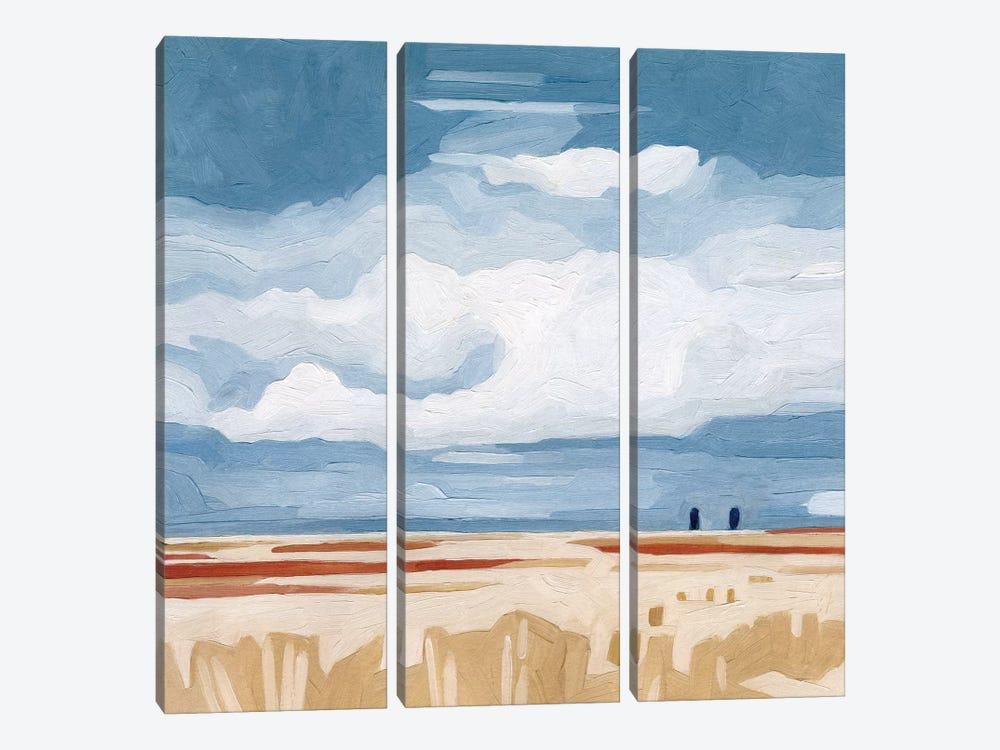Prairie Landscape II by Emma Scarvey 3-piece Canvas Artwork