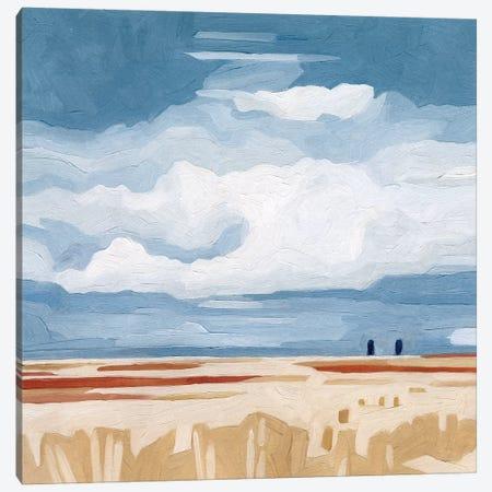 Prairie Landscape II Canvas Print #EMS203} by Emma Scarvey Canvas Artwork