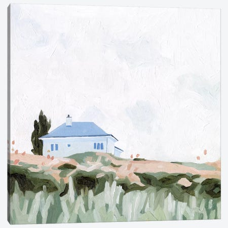 House on a Hill II Canvas Print #EMS207} by Emma Scarvey Art Print
