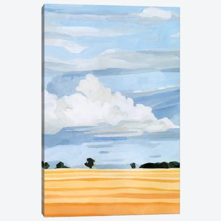 Pale Cloudscape I Canvas Print #EMS208} by Emma Scarvey Canvas Art