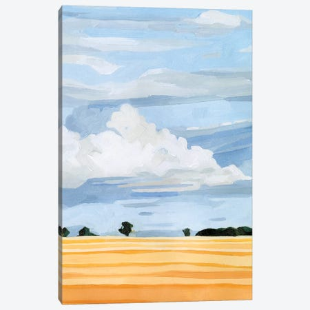 Pale Cloudscape I 3-Piece Canvas #EMS208} by Emma Scarvey Canvas Art