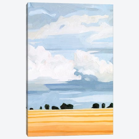 Pale Cloudscape II 3-Piece Canvas #EMS209} by Emma Scarvey Canvas Art