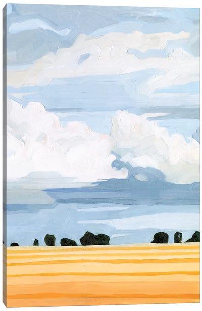 Pale Cloudscape II Canvas Art Print