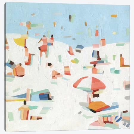 Summer Confetti III Canvas Print #EMS212} by Emma Scarvey Canvas Art Print