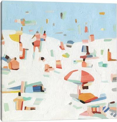 Summer Confetti III Canvas Art Print